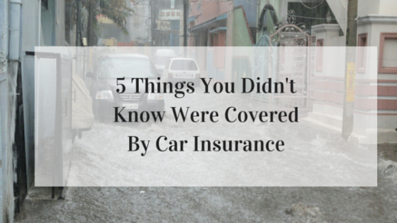 5 Things You Didn't Know Were Covered By Your Car Insurance
